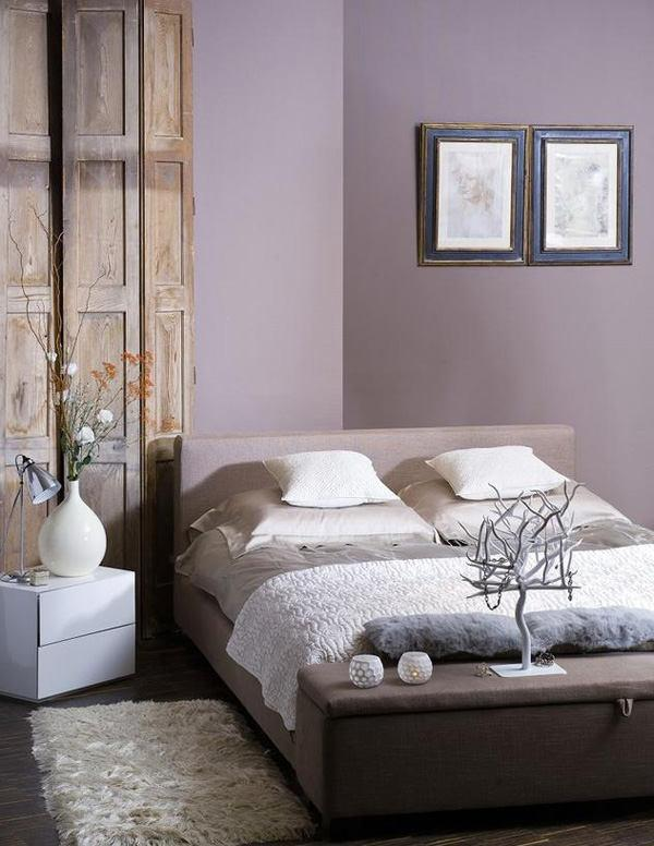 24 purple bedroom ideas decoholic. Black Bedroom Furniture Sets. Home Design Ideas