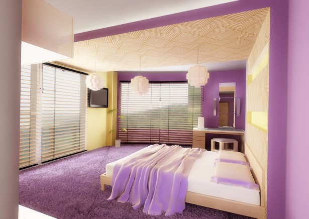 purple bedroom 21 ideas