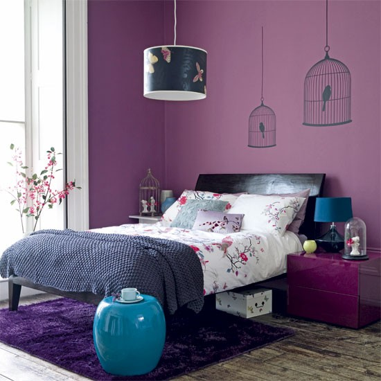 purple bedroom 6 ideas