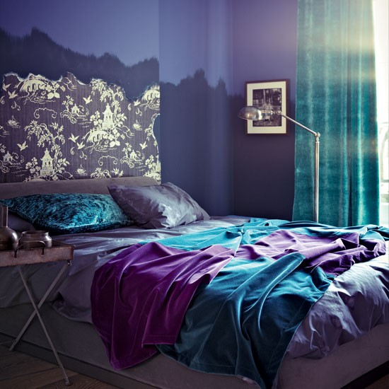 24 purple bedroom ideas decoholic Purple and gold bedrooms