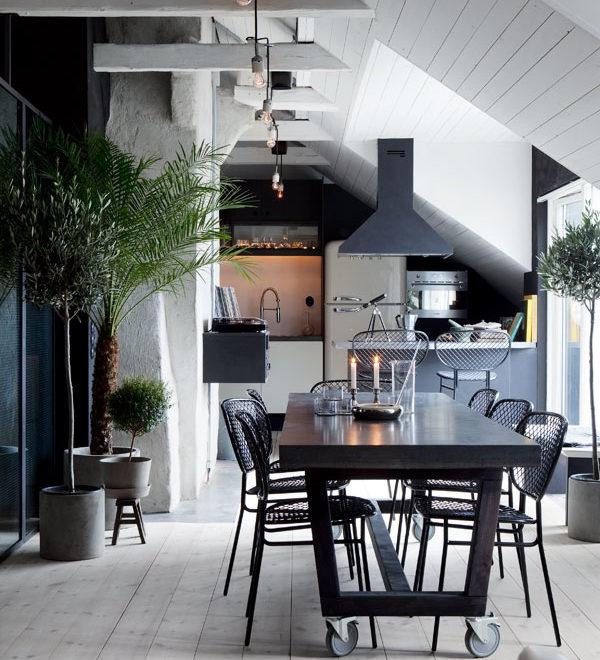 Scandinavian Attic House by Johan Israelson