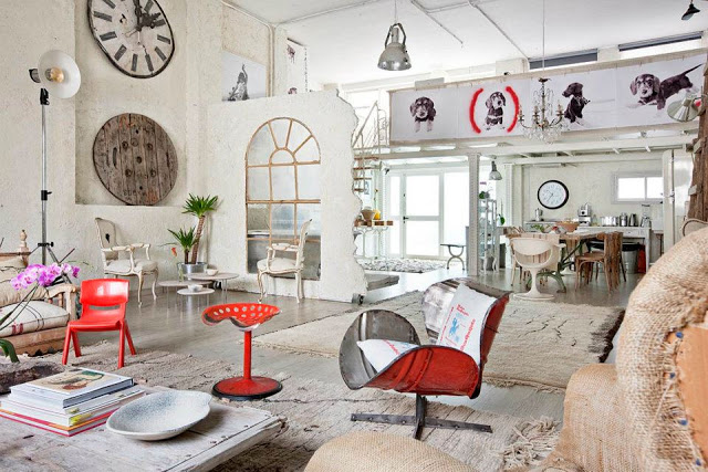 Eclectic Vintage Home interior 11