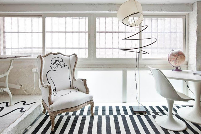 Eclectic Vintage Home interior 17