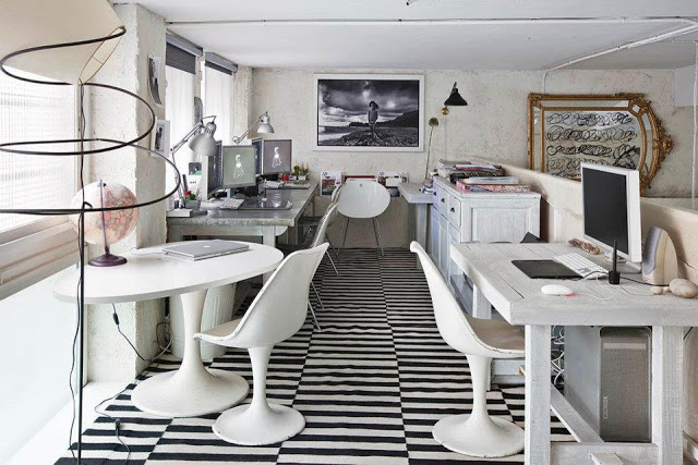 Eclectic Vintage Home interior 18
