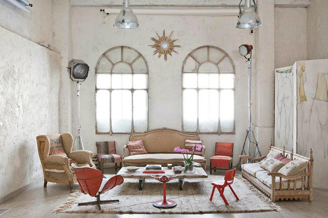Eclectic Vintage Home interior 3