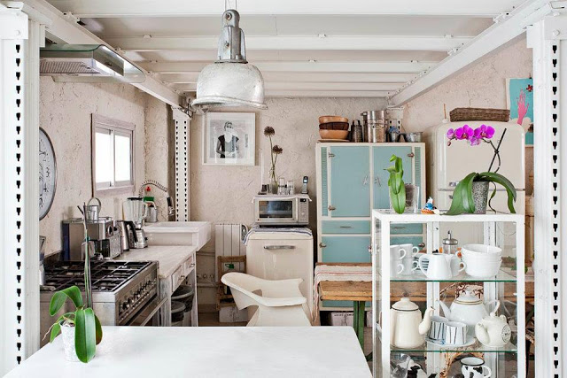 Eclectic Vintage Home interior 6