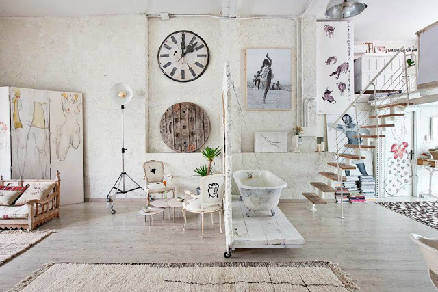 Eclectic Vintage Home interior 7