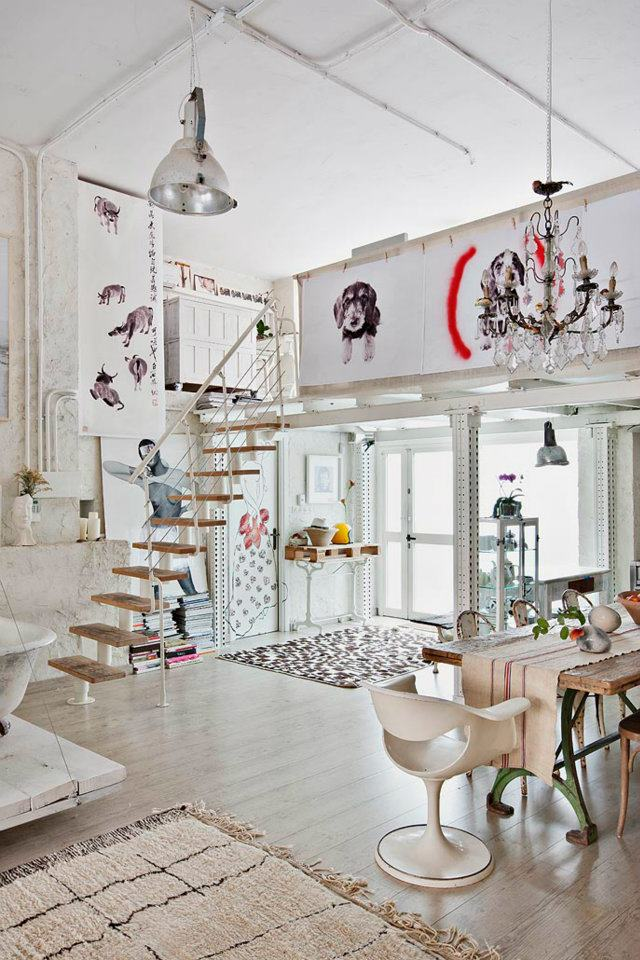 Eclectic Vintage Home interior 9
