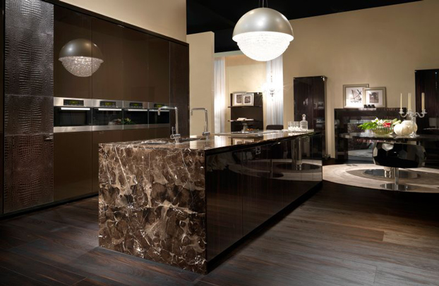 Kitchen designs by fendi casa decoholic for Arredi di lusso casa