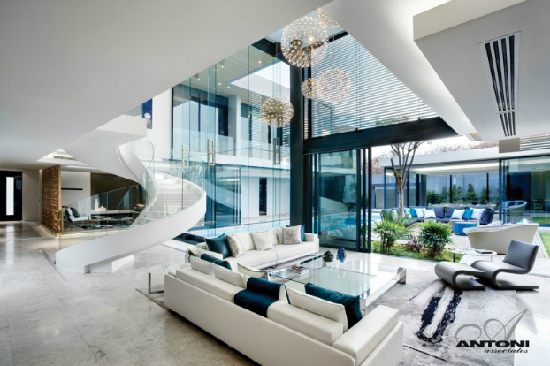 Contemporary Interior With Family Lifestyle