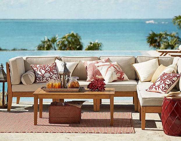 coastal ooutdoor patio furniture