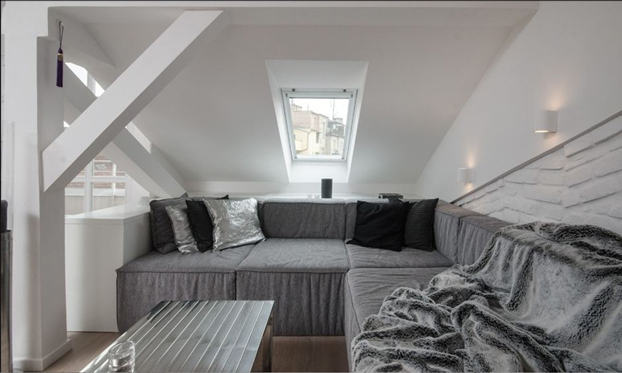 Attic Apartment In Prague - Decoholic