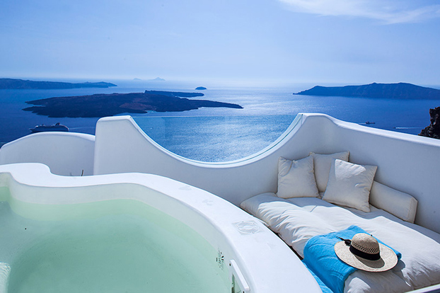 Greece native eco villa santorini 4