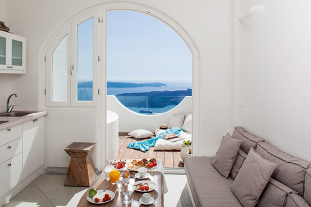 Greece native eco villa santorini 7