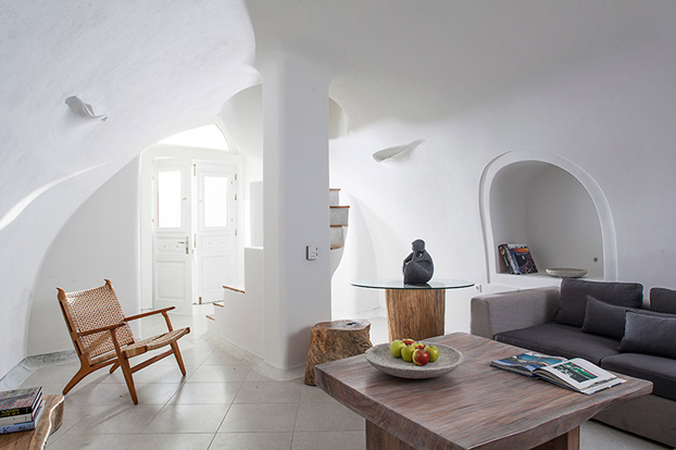 Greece native eco villa santorini