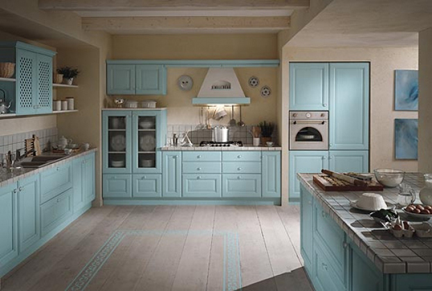 Inspiring kitchen colour schemes decoholic for Kitchen designs and colours schemes