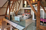 Penthouse interiors by TG studio