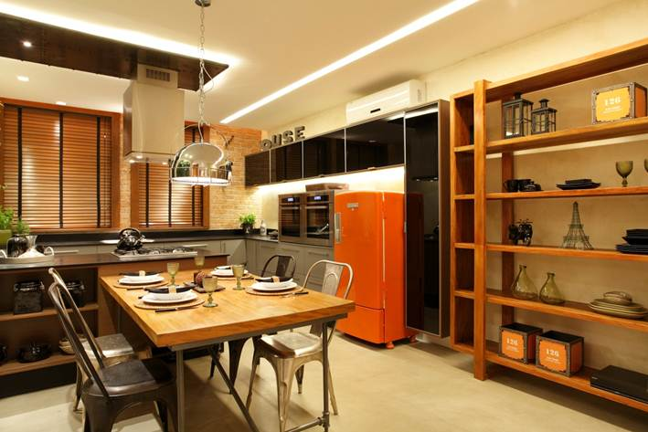 Modern Retro Kitchen Design 4