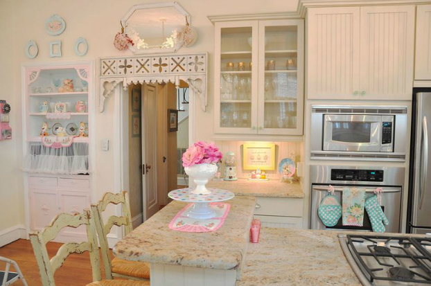 Creative Window Treatments Shabby Chic
