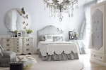 romantic light gray and white bedroom dolfi