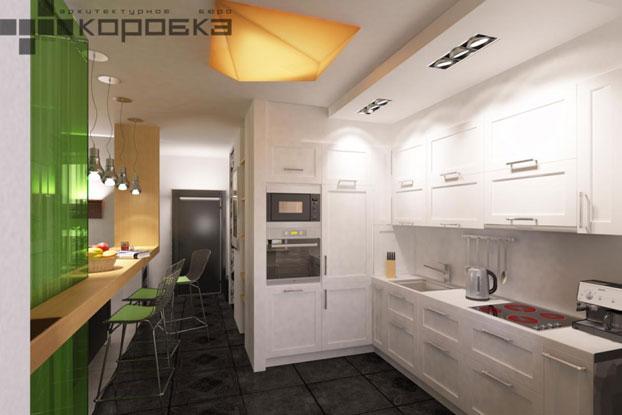 small apartment interior by abkorobka 4