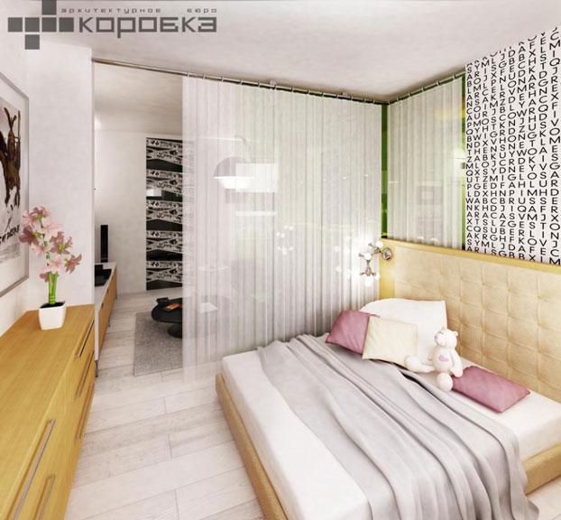small apartment interior by abkorobka 6