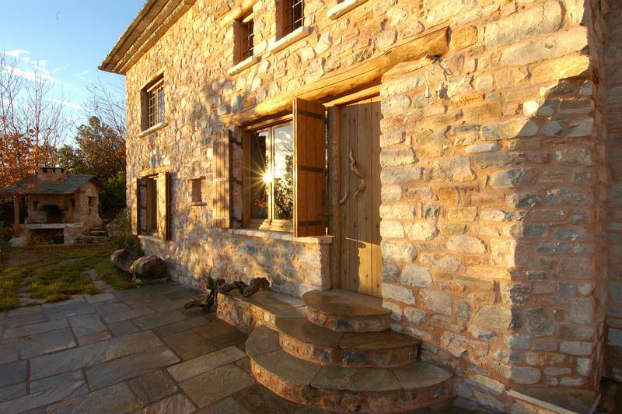 traditional stone home interiors by philippitzis10