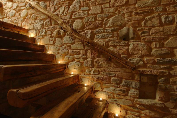 traditional stone home interiors by philippitzis9