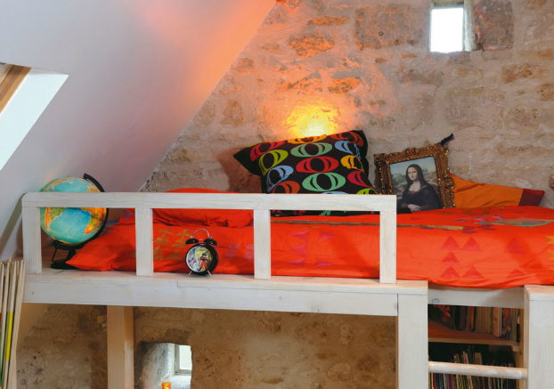 Awesome Attic Loft Kids' Bedroom 6