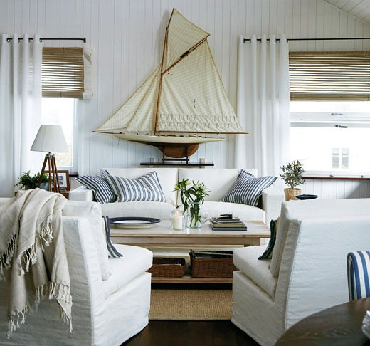 10 Beach House Decor Ideas: 14 Great Beach Themed Living Room Ideas