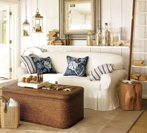 beach themed living room 4 ideas