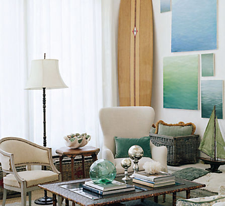 beach themed living room 7 ideas