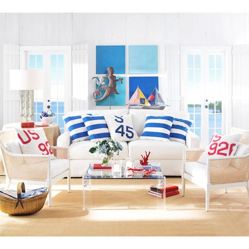 Living Room Theme Ideas: 14 Great Beach Themed Living Room Ideas