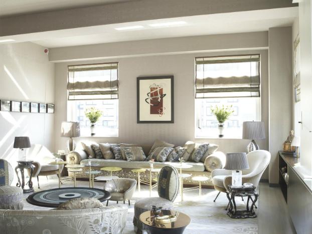 Living Room 2 Design by Muriel Brandolini