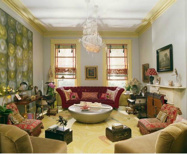 Living Room Designs 9 by Muriel Brandolini