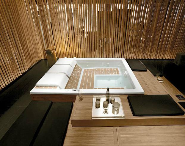 Home Spa Hydromassage bathtub Design2