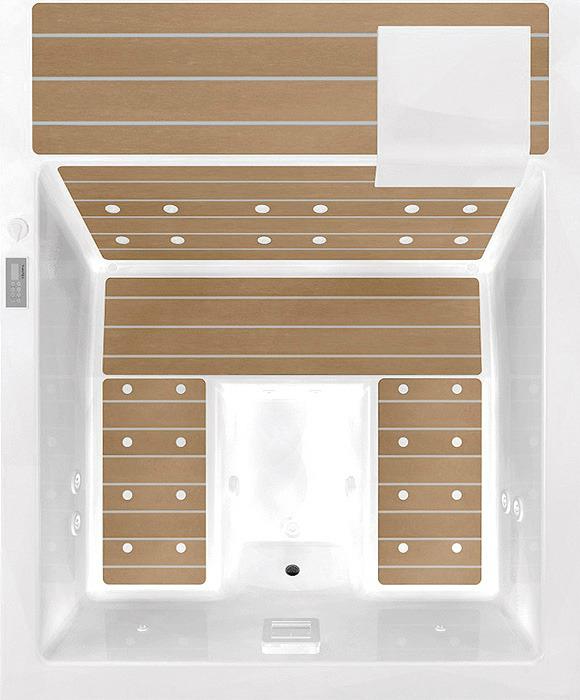 Home Spa Hydromassage bathtub Design3