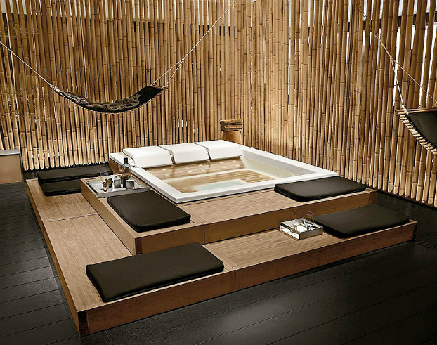 Home Spa Hydromassage bathtub Design