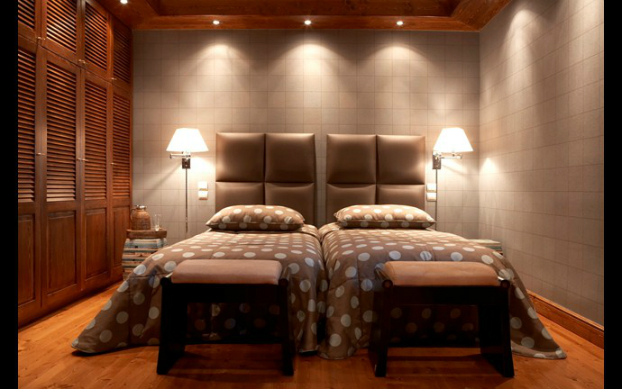 contemporary lucxury bedroom by cadena
