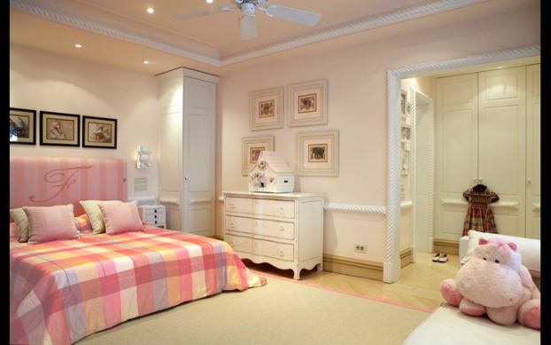 girls bedroom design by cadena