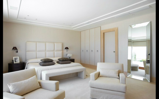 nautral bedroom design by cadena