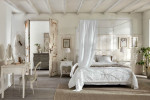 cream romantic bedroom with natural essence