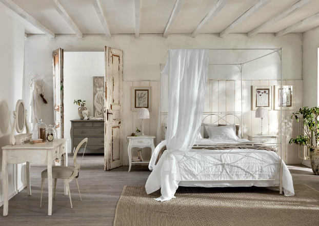 Bedroom ideas with natural essence decoholic - Deco chambre romantique beige ...