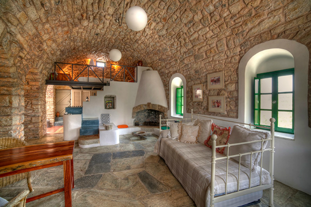 Traditional Greek Houses beautiful picturesque studios in kythera greece - decoholic