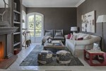 gray living room by la albaida