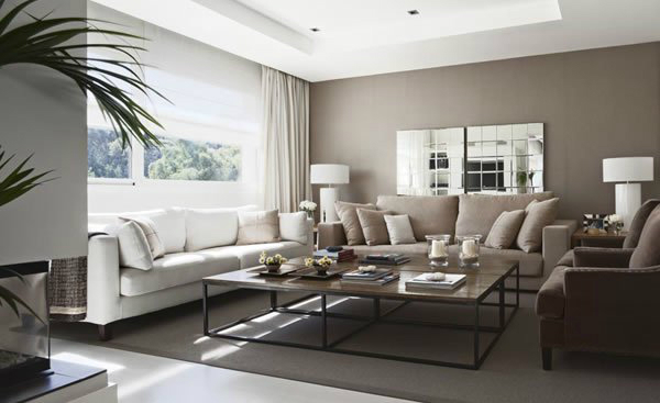Living Room Designs by LA ALBAIDA DECORACIÓN - Decoholic