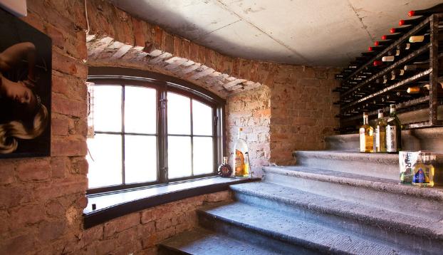 stone house small wine cellar