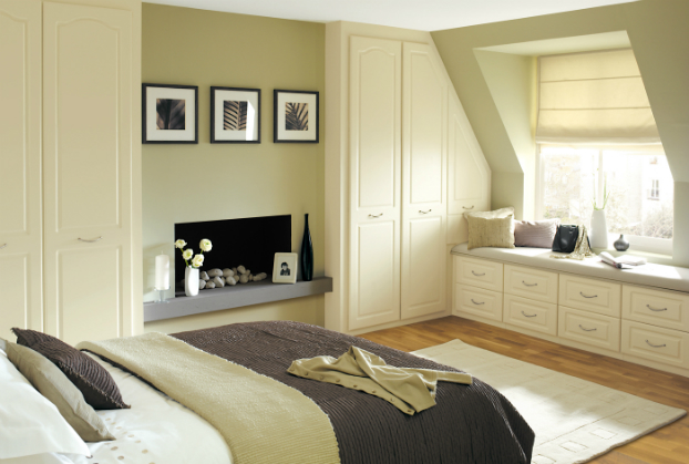 Simple Beige Bedroom Ideas