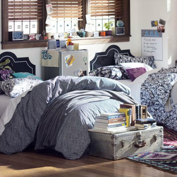 Two Teenage Girls Bedding Idea