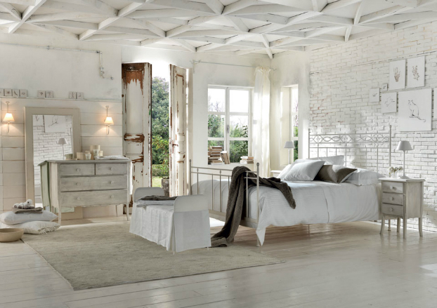 urban romantic bedroom